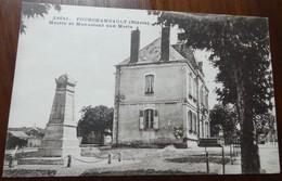 Fourchambault - Mairie Et Monument Aux Morts - Autres Communes