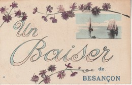 25 - BESANCON - Un Baiser De Besançon - Besancon