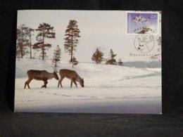 Finland 1995 Reindeer Maxicard__(U-2913) - Maximumkaarten