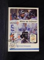 Finland 1997 Ice Hockey Maxicard__(U-2275) - Maximumkarten (MC)