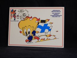 Finland 1997 Ice Hockey Maxicard__(U-2277) - Maximumkarten (MC)