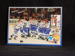 Finland 1997 Ice Hockey Maxicard__(U-2281) - Maximumkarten (MC)