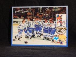 Finland 1997 Ice Hockey Maxicard__(U-2287) - Maximumkarten (MC)