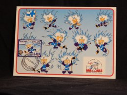 Finland 2003 Ice Hockey Maxicard__(U-2261) - Maximumkarten (MC)