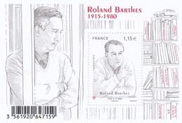 F 5006 Neuf (2015) Roland Barthes - Sheetlets
