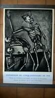 Affiche Exposition Du Cinquantenaire De 1918 - Musée De Lons Le Saulnier - Format 37 X 57 Cm - Originale 1968 - Afiches