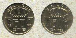 50 Cent 1989 Frans+vlaams * Uit Muntenset * FDC - 03. 50 Centimes