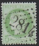 GC  2814   ST  JEAN  DE DAYE ( 48  MANCHE )  SUR  53 - Marcophilie (Timbres Détachés)