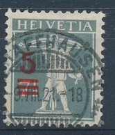 """HELVETIA - Mi Nr 158 II - Stempel """"SCHAFFHAUSEN"""" - (ref. 1849) - Gebraucht"""