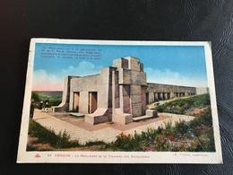 59 - VERDUN Le Monument De La Tranchée Des Baionnettes - 1937 Timbrée - Monuments Aux Morts