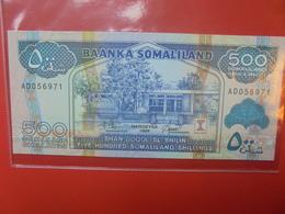 SOMALIE 500 SHILLINGS 1994 PEU CIRCULER/NEUF - Somalie