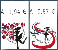 Adhésif Coeur Guerlain 0.97 + 1.94 BDF (2020) Neuf** - Francia
