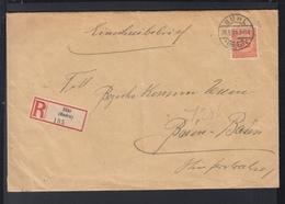 Dt. Reich R-Brief 1924 Bühl Nach Baden-Baden BPP Geprüft - Deutschland