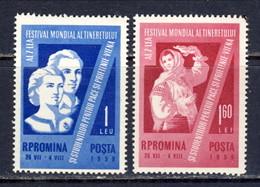 ROMANIA 1959. MNH, Mi 1790/91 - 1948-.... Repúblicas