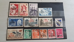 LA REUNION France 14 Timbres En Francs CFA Oblitérés - Reunion Island (1852-1975)