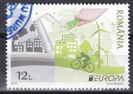 Ei_ Rumänien - Mi.Nr. 7068 - Gestempelt Used - Europa CEPT 2016 - Gebraucht