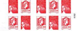 France.carnet 1512.carnet De 10 Timbres à Composition Variable.neuf Non Plié. - Definitives
