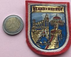 (3) Blazoenen - Emblemen - Blankenberge - Textiel - Blazoenen (textiel)