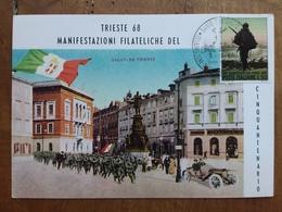 REPUBBLICA - Marcofilia - 50° Anniversario Trieste Unione All'Italia + Spese Postali - 1946-.. République
