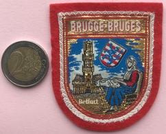 (5) Blazoenen - Emblemen - Brugge - Bruges - Textiel - Blazoenen (textiel)