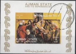 "1809 Ajman  "" Deposizione Dalla Croce ""   Quadro Dipinto Da R. Van Der Weyden Used Rinascimento  Paintings - Ajman"