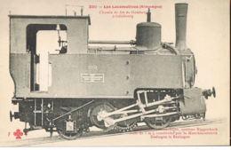 Chemins De Fer-Railway- Les Locomotives-ALLEMAGNE- Chemin De Fer De Galsberg à SALZBOURG-à Cremaillère - Matériel