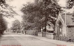 CP Royaume Uni Angleterre Cheadle Hulme Church Road Pliée à Droite - Sonstige