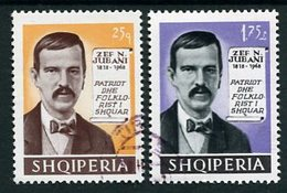 ALBANIA 1968 Juhani Anniversary  Used. Michel 1264-65 - Albanie