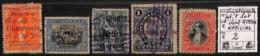 NB - [814669]B/TB//O/Used-Guatemala  - Petit Lot Dont 5 Pesos OFFICIAL, Portraits - Guatemala