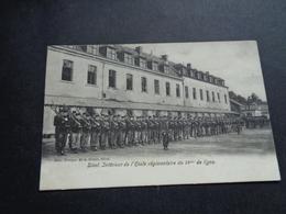 Belgique  België  ( 2051 )   Diest  Intérieure De L' école Régimentaire Du 1° De Ligne - Caserne  Kazerne - Diest