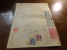 STABILIMENTO ANTICHE TERME MOLINO- ABANO TERME (PADOVA)-1947 CON DIVERSE MARCHE DA BOLLO - Italie