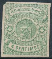 Luxemburgo 1865  Yvert Tellier Nº   15 */NH Gran Duque De Luxemburgo - Luxembourg