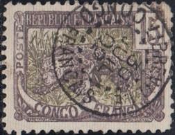 Congo Français - Libreville Sur N° 32 (YT) N° 32 (AM). Oblitération De 1902. - Oblitérés