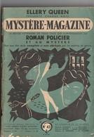 Revue Mystère-Magazine. Ellery Queen. N° 43 De 1951. - Boeken, Tijdschriften, Stripverhalen
