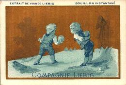 1 Chromo Liebig - S004 S04 - Children Blue - Enfants Bleus - R/v - Bill-917 - Liebig