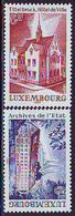Luxemburgo 1980  Yvert Tellier Nº  957/58 ** Serie Turistica (2v) - Luxemburgo