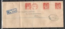 GB Brief AFS Einschreiben Von London Nach Berlin Vom 12.12.1938 - 1902-1951 (Reyes)