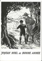 ILLUSTRATEUR JOYEUX NOEL BONNE ANNEE 1997 SCOUTE - Scoutisme