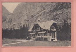 OLD POSTCARD - SWITZERLAND - SCHWEIZ - SUISSE -  ADVERTISING - HOTEL WALDHAUS - GASTERNTAL - BE Berne