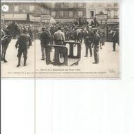 75-PARIS GREVE DES CHEMINOTS DU NORD COUR INTERIEURE DE LA GARE - Metropolitana, Stazioni