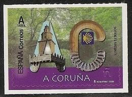 2020-ED. 5361 - 12 Meses, 12 Sellos. A CORUÑA -NUEVO- - 1931-Heute: 2. Rep. - ... Juan Carlos I