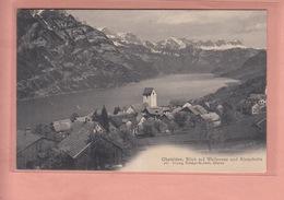 OLD POSTCARD - SWITZERLAND - SCHWEIZ - SUISSE -  OBSTALDEN - WALLENSEE - GL Glaris