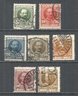 Denmark 1907 Used Stamps - 1905-12 (Frederik VIII)