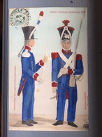 Gardes Nationaux Ardennais, 1840 - Francia