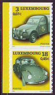 Luxemburgo 2001  Yvert Tellier Nº  1487/88 **  Coches Antiguos De Antaño (2v) - Nuevos