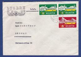 Brief Convention Rotary International Luzern 1957 (br8404) - Rotary, Lions Club