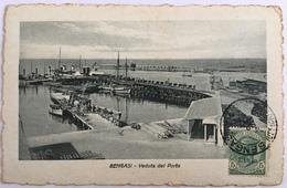 V 53018 A - Libia Italiana - Bengasi - Veduta Del Porto - Libya