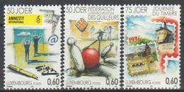 Luxemburgo 2011  Yvert Tellier Nº  1844/46 ** Aniversarios  (3v) - Nuevos