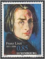 Luxemburgo 2011  Yvert Tellier Nº  1860 ** 200A Franz Liszt - Nuevos