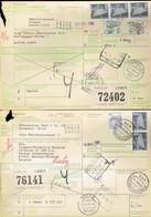 6 Expéditions Colis International-1980-RFA Monchengladbach-Kassel-Prum-Friolzheim-Wildberg-Meschede-siehe Beschreibung - Collections